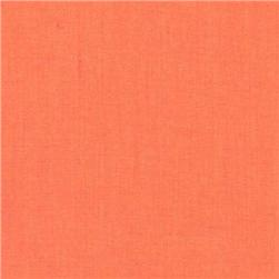 Cotton Blend Broadcloth Orange