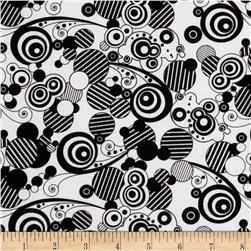 Matrix Abstract White/Black
