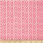 0280233 Moda Spring House Woven Raspberry