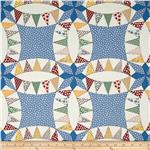 "0291104 60"" Aunt Grace Backing/Cheater Quilt Blue"