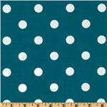 UK-340 Premier Prints Indoor/Outdoor Polka Dot Blue Moon