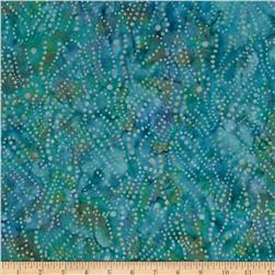 Moda Xanadu Batiks Abstract Dots Ocean