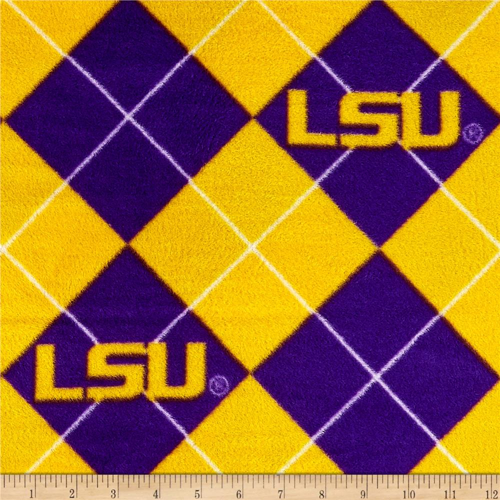 Collegiate Fleece Louisiana State University Argyle