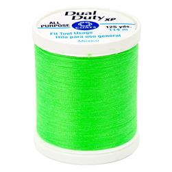 Coats & Clark Dual Duty XP 125yd Neon Green
