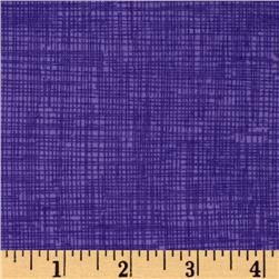 Timeless Treasures Sketch Flannel Purple