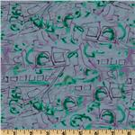 0261964 Jazz City Graffiti Purple