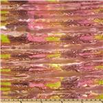 Indian Batik Roaring Waves Berry