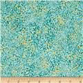 Crescendo Splatter Metallic Aqua