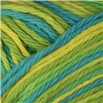Peaches &amp; Creme Ombre Yarn (02711) Tropical Sea