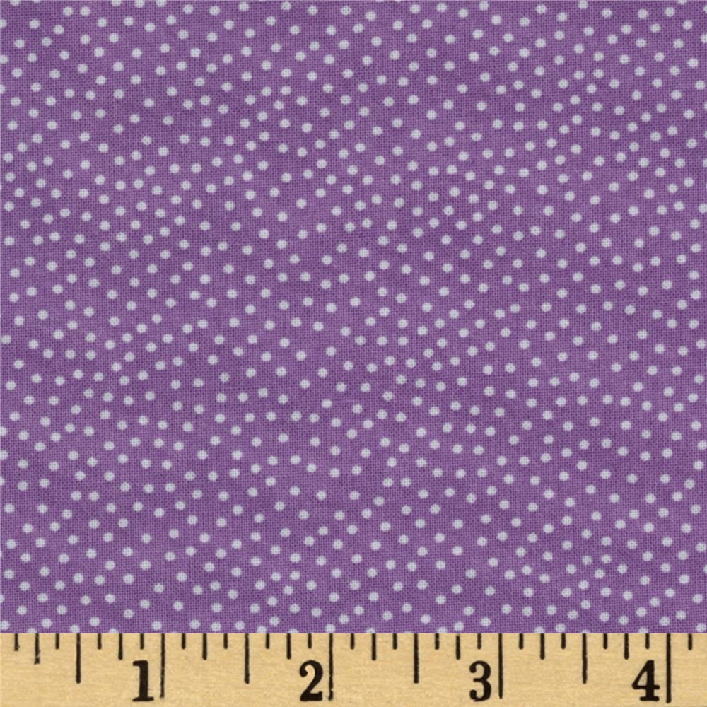 Michael Miller Garden Pindot Twilight Lavender