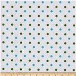 Riley Blake The Simple Life Dots Aqua