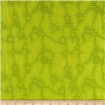 Harlow Jacquard Shirting Lime Green