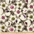 Contempo Cachet Small Flower Pink/Taupe