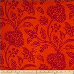 Garden Party Garden Floral Tonal Orange