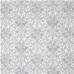 Glamour Inc. Damask Silver