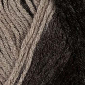 Lion Brand Vanna&#39;s Choice Yarn (204) Charcoal Print