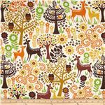 0301805 Woodstock Animals Cream