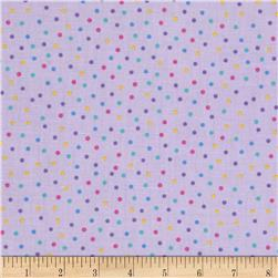 Baby Talk Dots Lavender/Multi