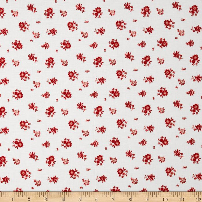 Riley Blake The Simple Life Simple Floral Red