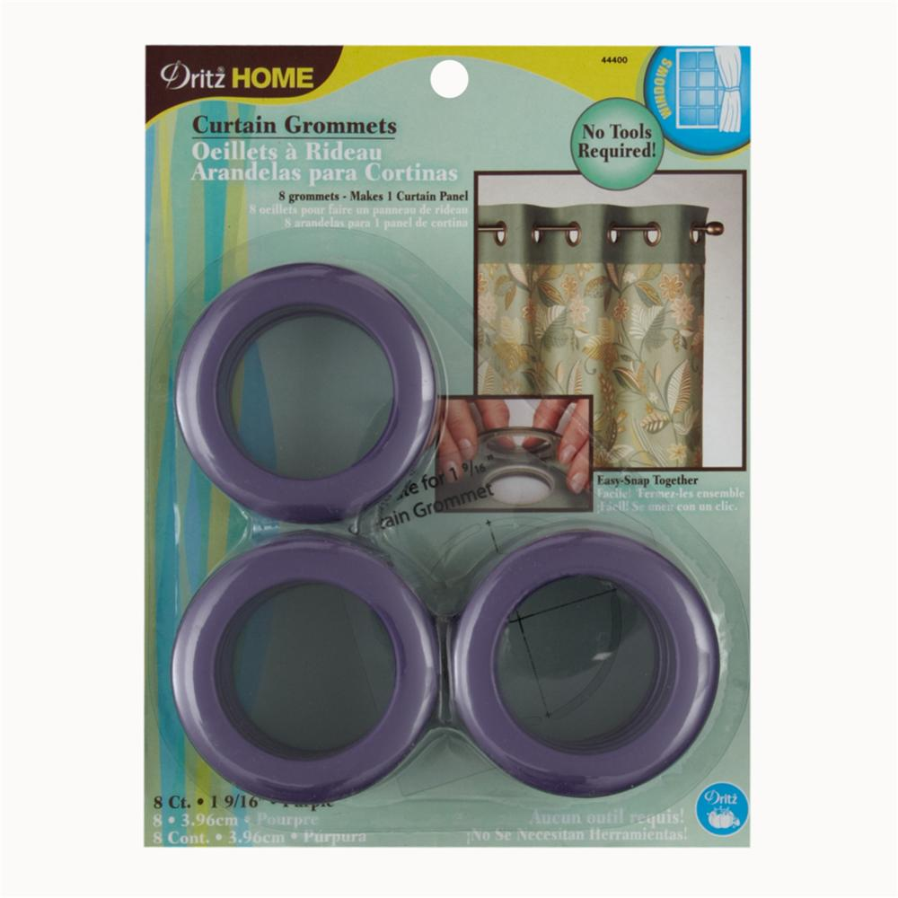 Curtain Grommets 1 9/16&quot; Purple