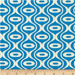 Riley Blake Hipster Rain Drop Blue