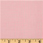 Woven 1/16&#39;&#39; Carolina Gingham Candy Pink