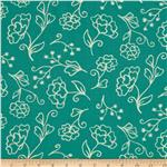 0272379 Summer House Floral Teal