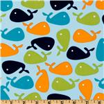 DN-509 Urban Zoologie Whales Aqua