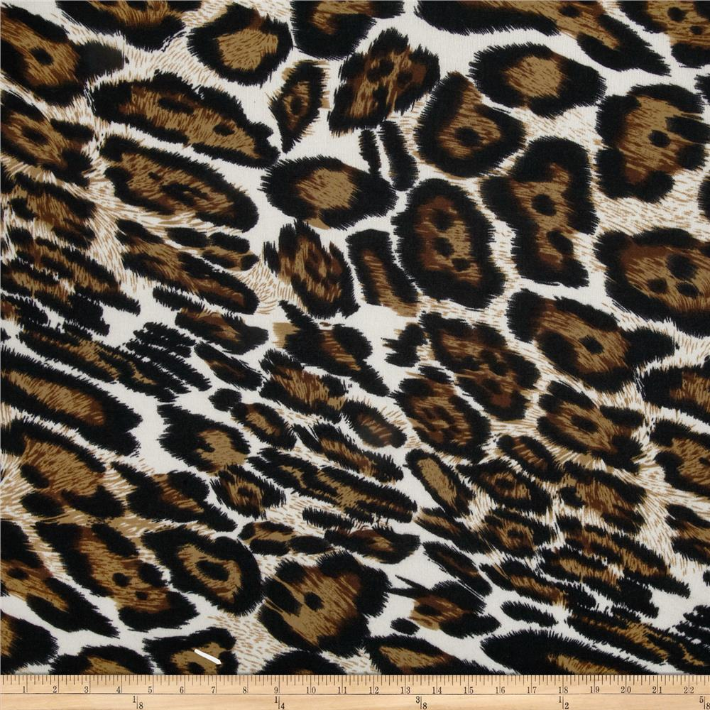 Viva Hatchi Sweater Knit Leopard Black/Brown