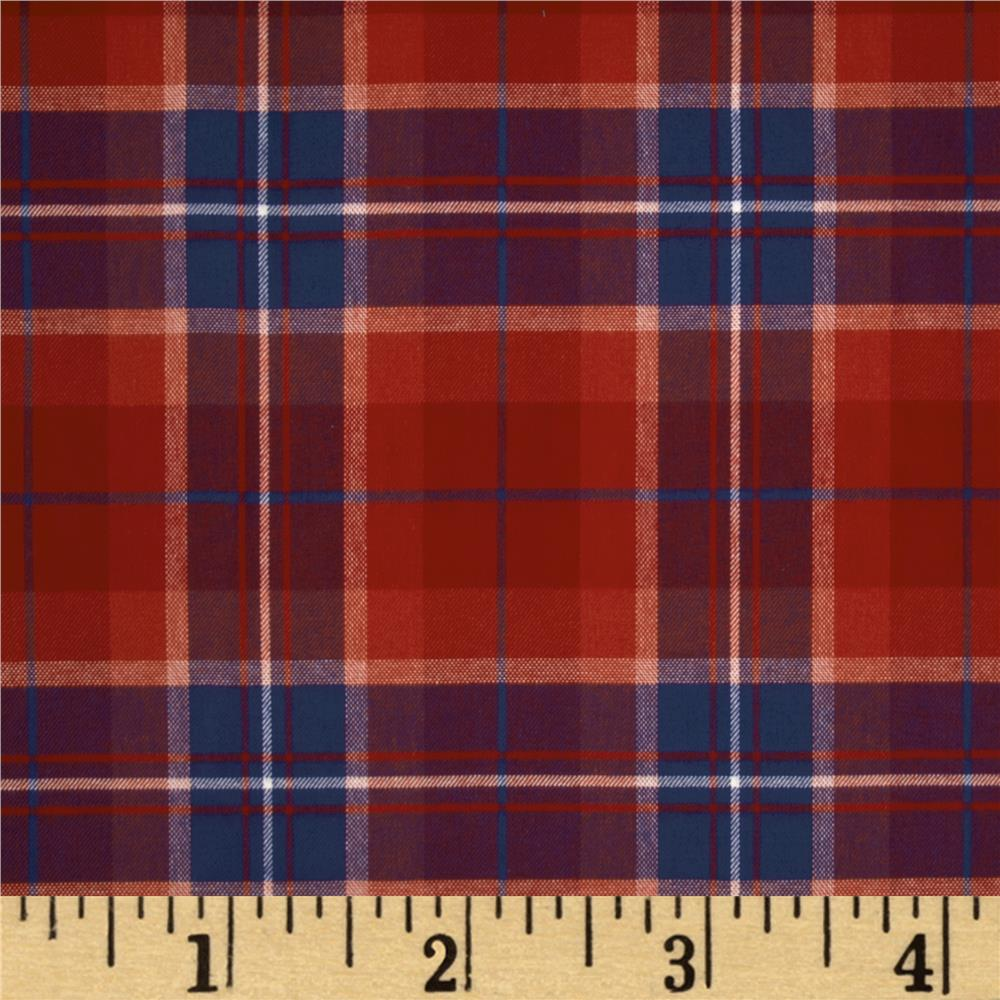 Diversitex Fleming Plaid Cherry