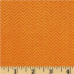 Riley Blake Maverick Chevron Orange