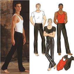 Kwik Sew Men's Dance Wear Pattern