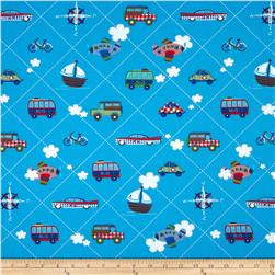 Simply Sweet Traffic Diagonal Patch Blue