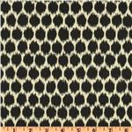 UN-719 Waverly Seeing Spots Sateen Noir