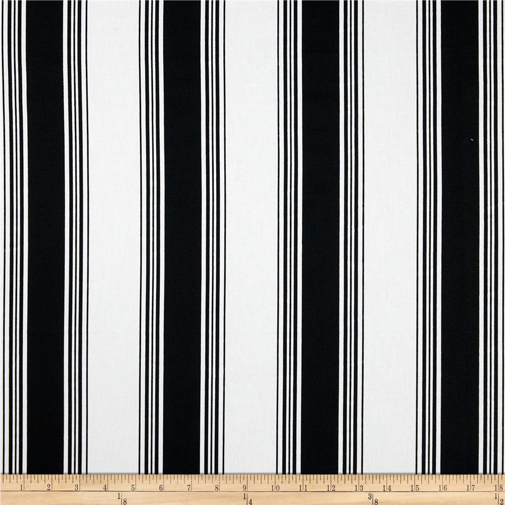 Premier Prints Accord Stripe Black