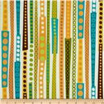 Creatures &amp; Critters Stripes Blue/Multi