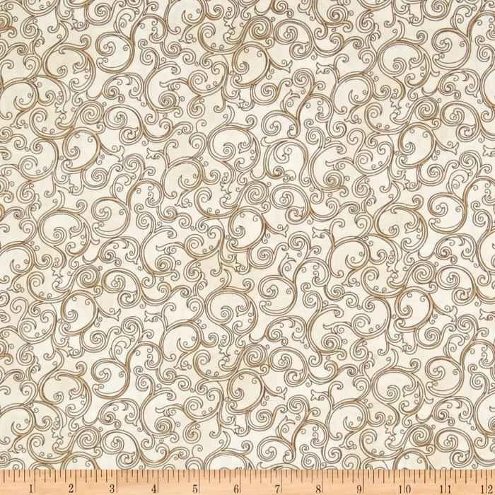 Esmeralda Scroll Cream