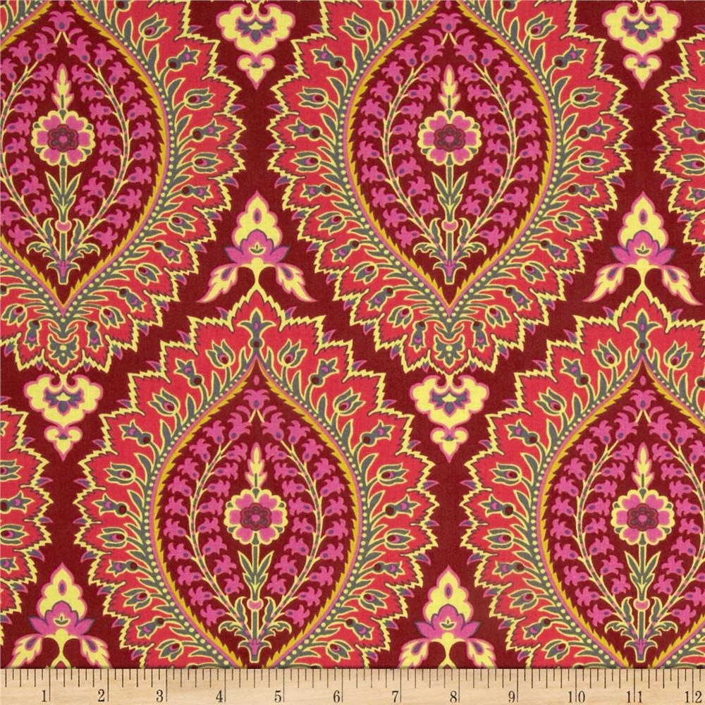 Amy Butler Alchemy Imperial Paisley Zinnia