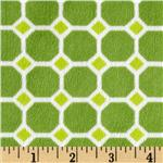 Minky Cuddle Izzy Header Tile Green