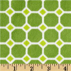 Minky Cuddle Izzy Tile Green