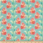 0277957 Blossoming Nouveau Aqua