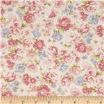 Pristine Medium Floral Antique Pink