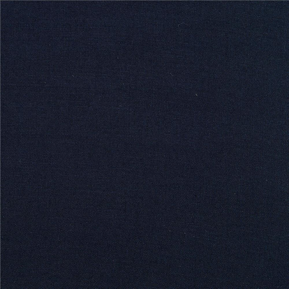 Rayon Challis Navy