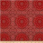 0286613 Wild West Bandana Red
