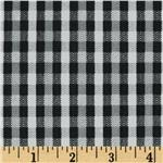 0262746 Herringbone Plaid Dark Grey
