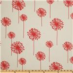 UK-059 Premier Prints Indoor/Outdoor Dandelion White/American Red