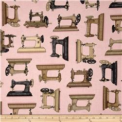 Vintage Couturier Sewing Machines Pink
