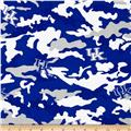 University of Kentucky Cotton Camouflage Blue