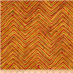Moda Simple Marks Chevron Trails Gold