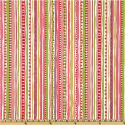 P Kaufmann Playtime Stripe Rose/Petal